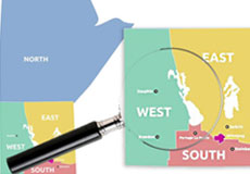 Regional Boundaries Map