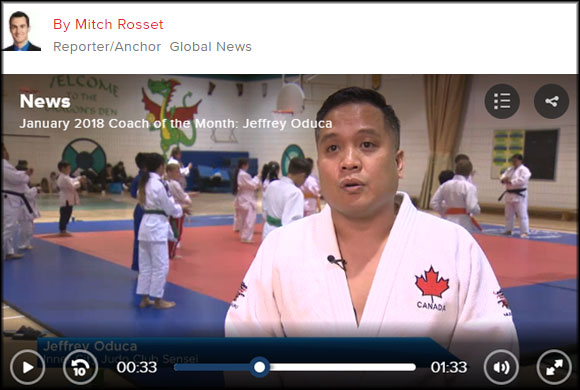Global TV Coach of the Month
