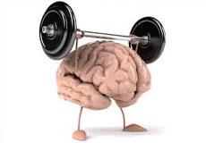 brain lifting weights