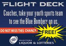 Manitoba Liquor and Lotteries Flight Deck
