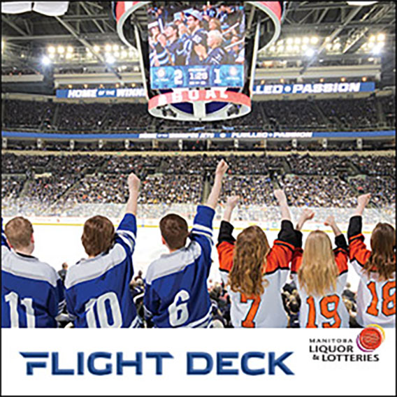 Manitoba Liquor and Lotteries Flight Deck