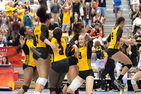 Team Manitoba was awarded the Centennial Cup at the 2017 Canada Summer Games