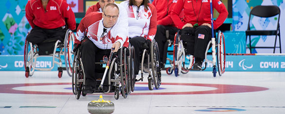 Dennis Thiessen - Wheelchair curling