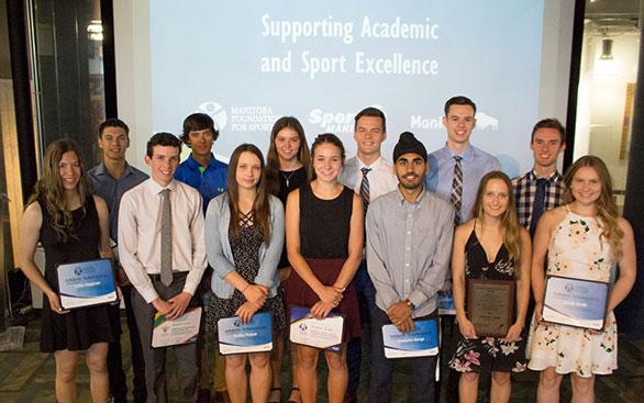 scholarship group photos