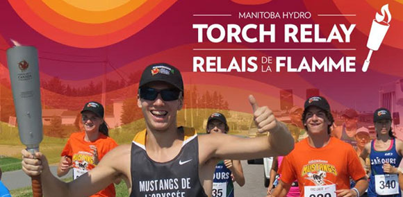 Manitoba Hydro Torch Relay