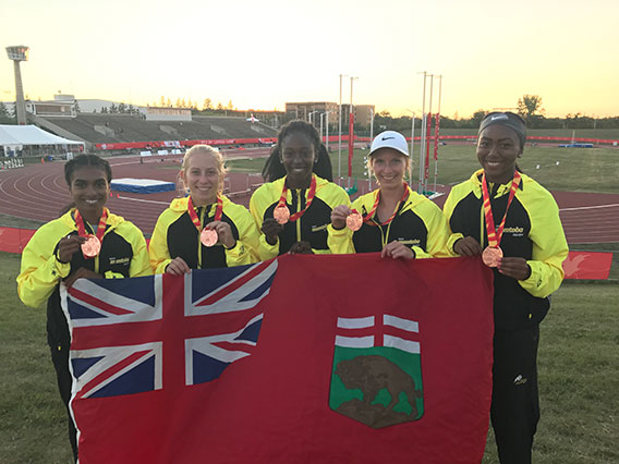 Team Manitoba medalists