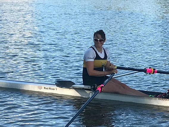 Team Manitoba Rower, Emma Gray